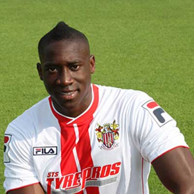 Boro' snapped up powerful wide man Lucas Akins in summer 2012 after agreeing a fee with former club Tranmere Rovers