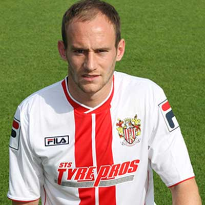 David Gray, a right-sided defender also capable of playing in midfield, was recruited by Stevenage manager Gary Smith in summer 2012