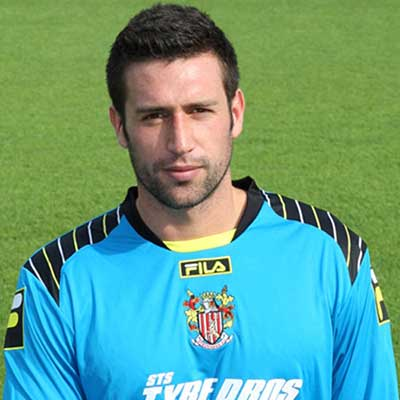 Young shot stopper Steve Arnold was snapped up by boss Gary Smith during the summer 2012 window, following the decision to release Alan Julian