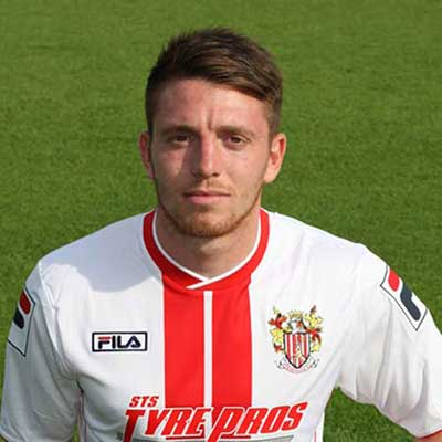 Sam Wedgbury was one of the first new faces to join the squad after the 2012-3 season; manager Graham Westley snapping up the midfielder on a free