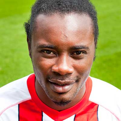 Stevenage continued a new trend of signing strikers with a surname starting with 'Z' in summer 2014, with Calvin Zola joining up with the squad