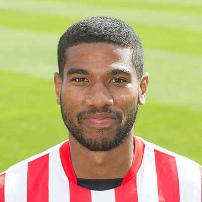 Left back Jerome Okimo got a chance to make a name for himself in the Football League in 2014 after Graham Westley signed him from Wealdstone