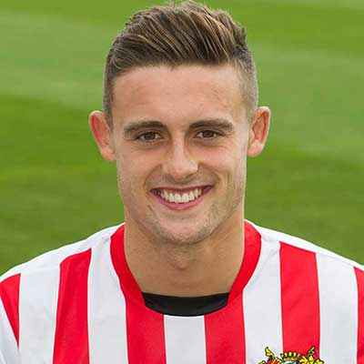 Academy scholar George Casey stepped up to the first team squad in 2014; the young midfielder making the bench for a home Johnstone's Paint Trophy tie
