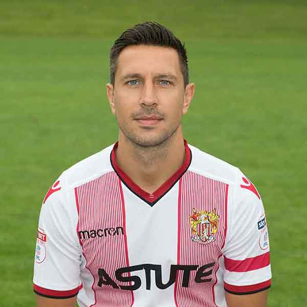Stevenage Player: Joe Martin (Defence)