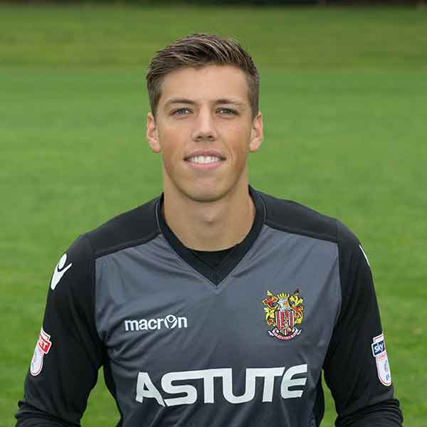 From one Boro' to another; goalkeeper Joe Fryer arrived at Boro' in summer 2017 on a season-long loan from Championship side Middlesbrough