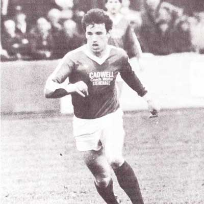 Tim Ball was an energetic midfielder who, alongside his playing role with Stevenage Borough, also fulfilled coaching duties
