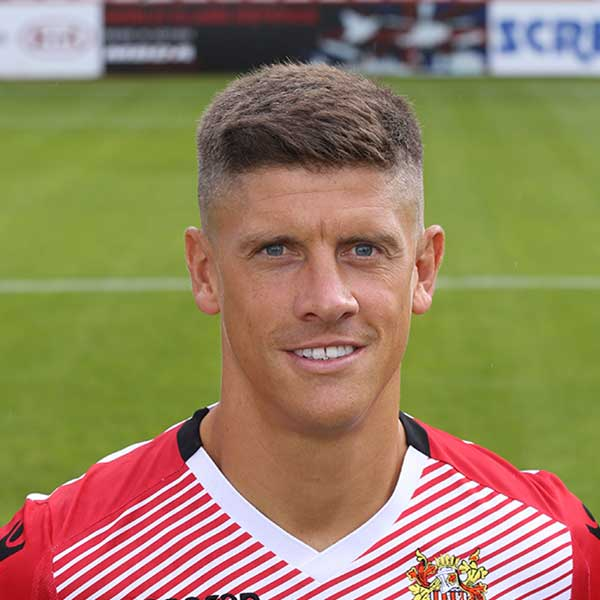 An experienced Football League striker if ever there was one, Alex Revell arrived at the Lamex towards the end of the January 2018 transfer window