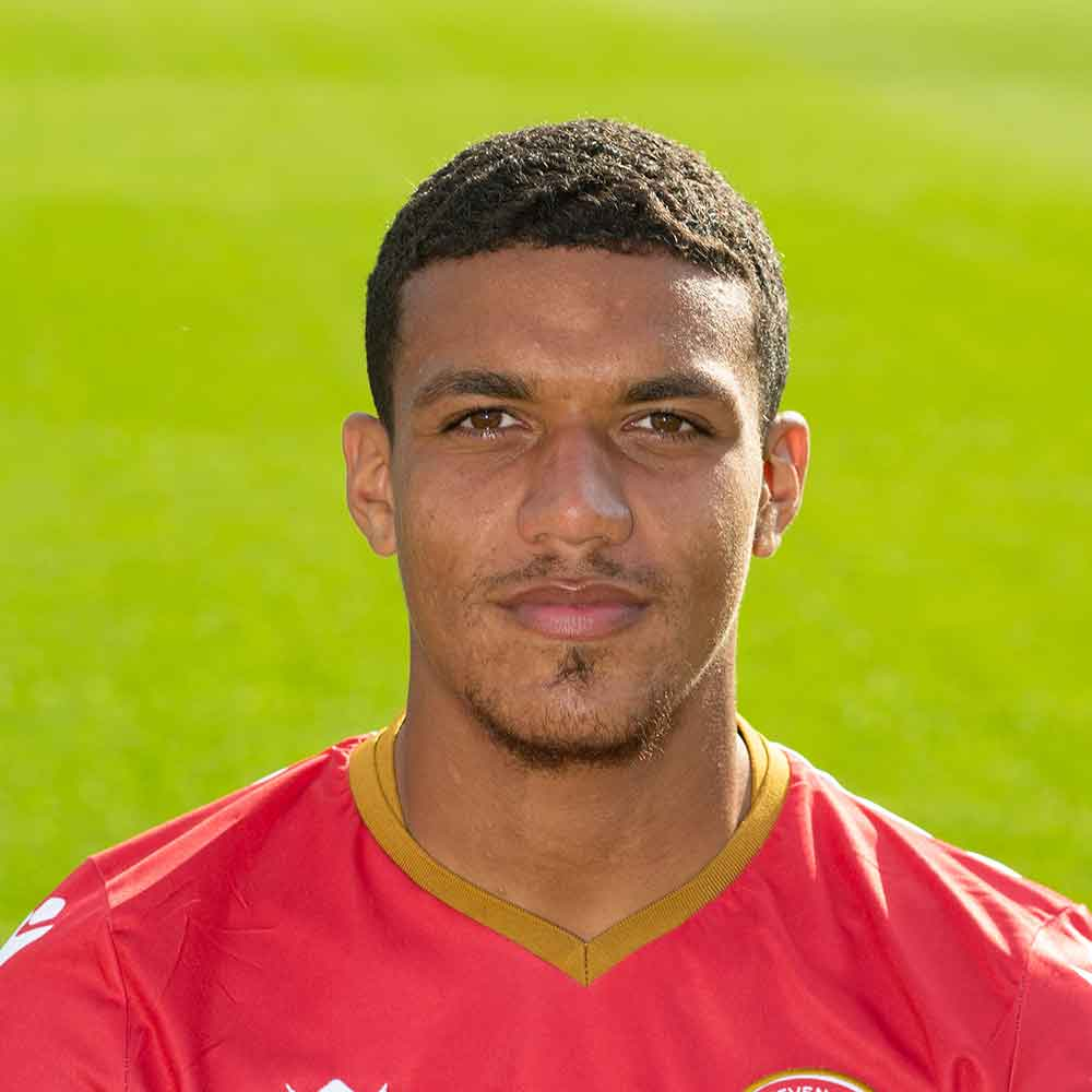 A native of Leicester, full-back Luther James-Wildin moved to Stevenage in summer 2018; the second new arrival of the close season