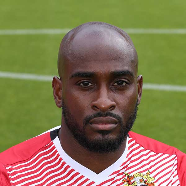 """I may be 35 but I feel 25. I still have plenty still to offer and I am as hungry as ever"" – Jamal Campbell-Ryce was in bullish form upon his arrival at Stevenage"
