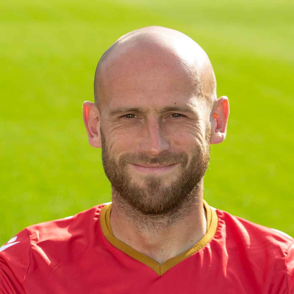 Stevenage Player: Scott Cuthbert (Defence)