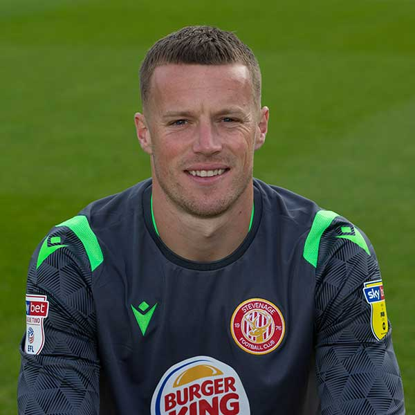 Stevenage Player: Paul Farman (Goalkeeper)