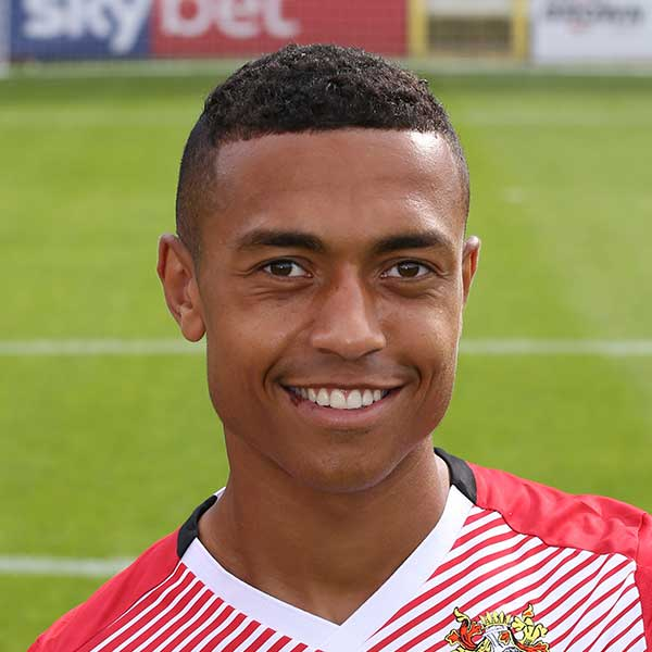 A summer 2018 signing for the Boro', forward Alex Reid came to the club from Fleetwood Town after impressing in three pre-season friendlies
