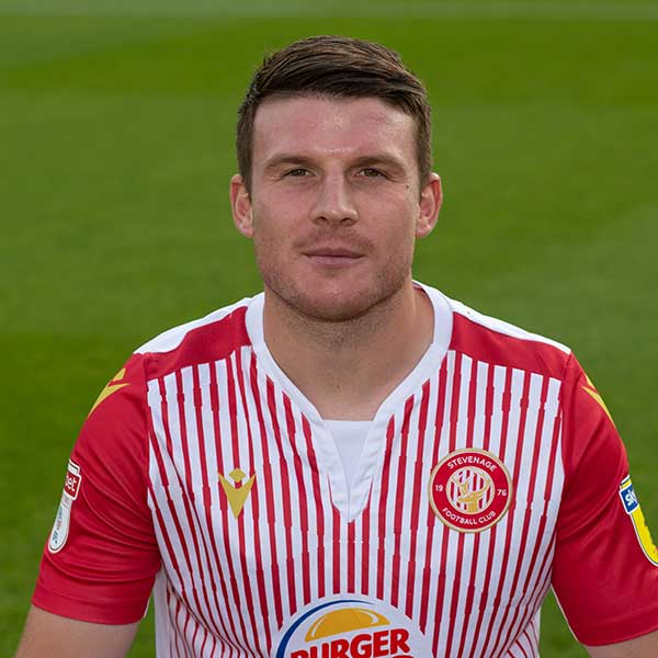 Stevenage Player: Chris Stokes (Defence)