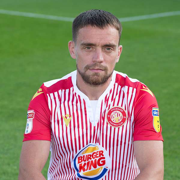 Stevenage Player: Paul Taylor (Forward)