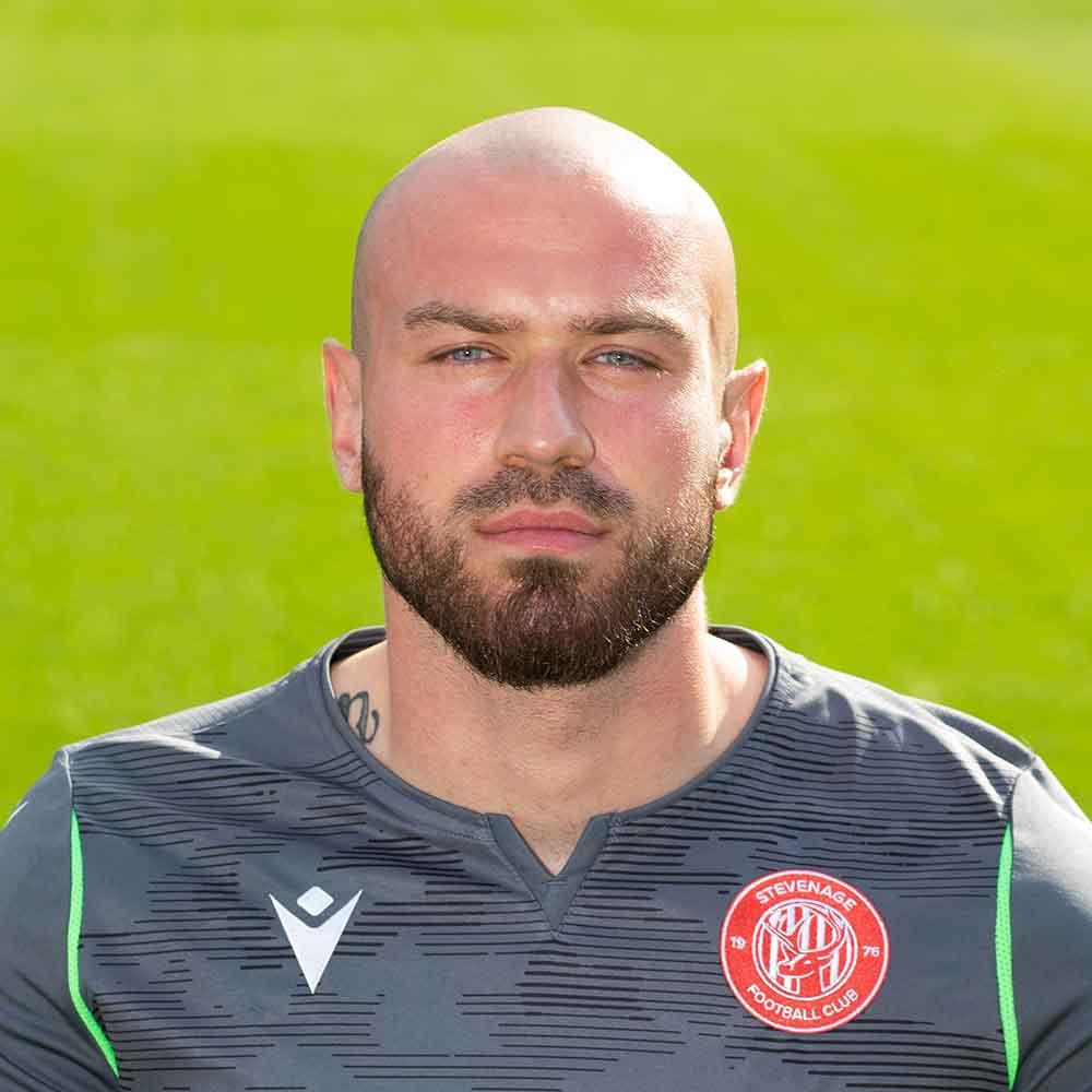 Stevenage Player: Sacha Bastien (Goalkeeper)
