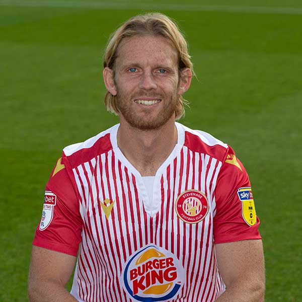 Stevenage Player: Craig Mackail-Smith (Forward)