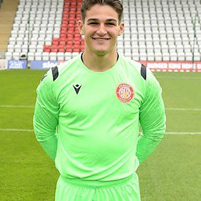 Stevenage Player: Jack Berman (Goalkeeper)