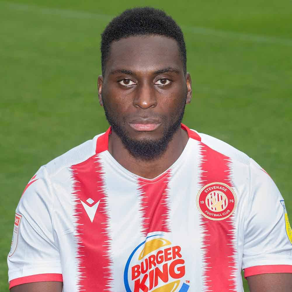 Stevenage Player: Inih Effiong (Forward)