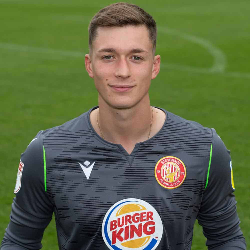 Stevenage Player: Billy Johnson (Goalkeeper)