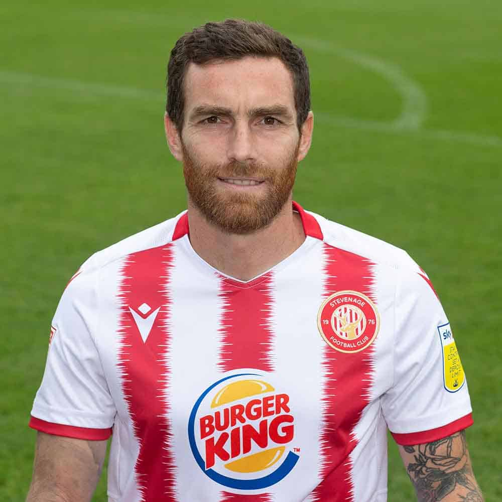 Stevenage Player: Romain Vincelot (Midfield)