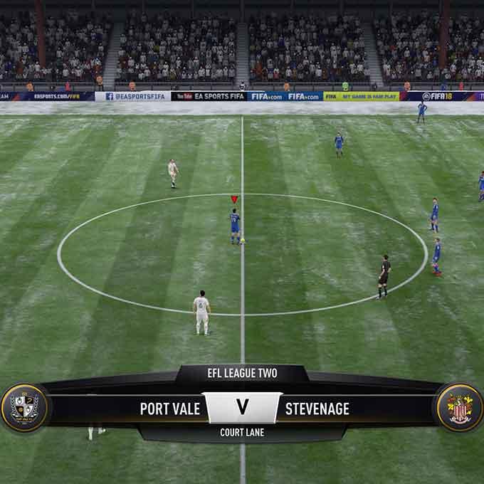 Port Vale (Away): FIFA 18 Verdict