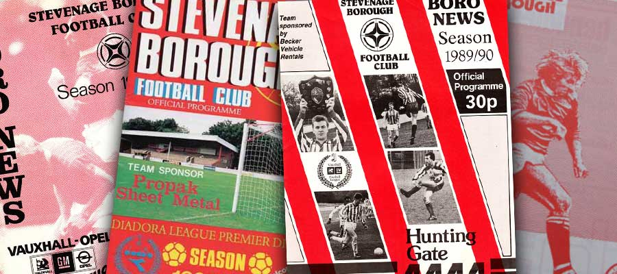 Old Stevenage Programmes