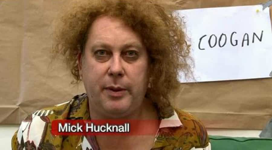Vic Reeves as Mick Hucknall