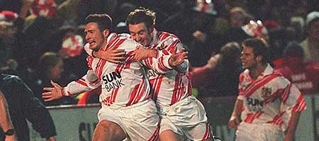 Grazioli's equaliser earned Boro' a replay against Newcastle United in 1998
