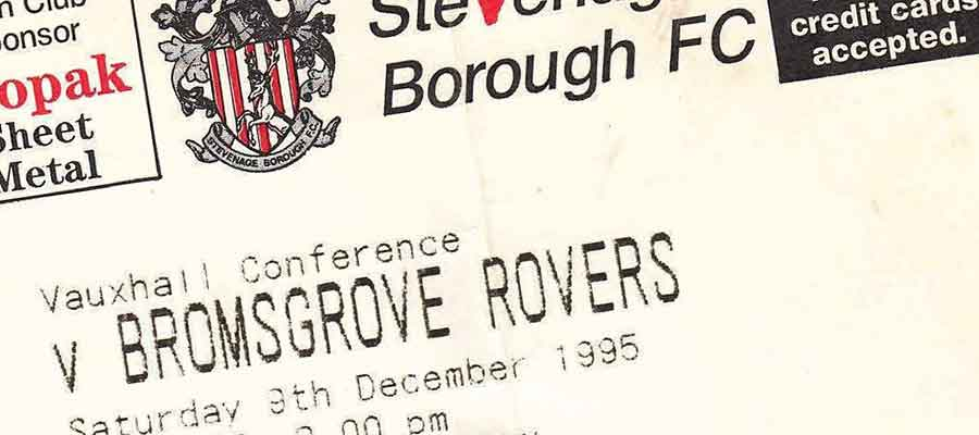 Bromsgrove Rovers: Remember Them?