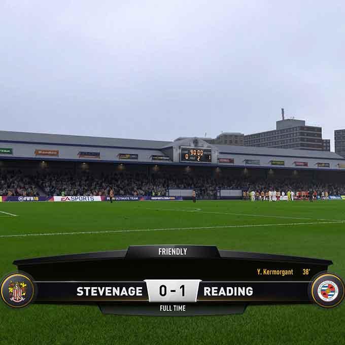 FIFA 18 Verdict: Reading (H)