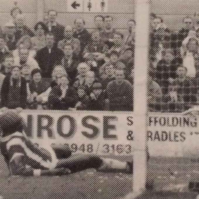 Efe Sodje scores Boro's third against Woking on Easter Monday 1996