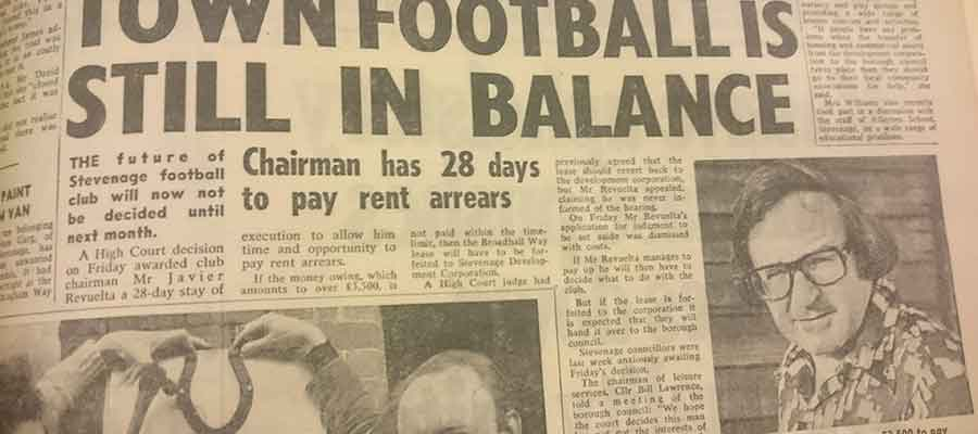 Town Football Is Still In Balance: Blast From The Past