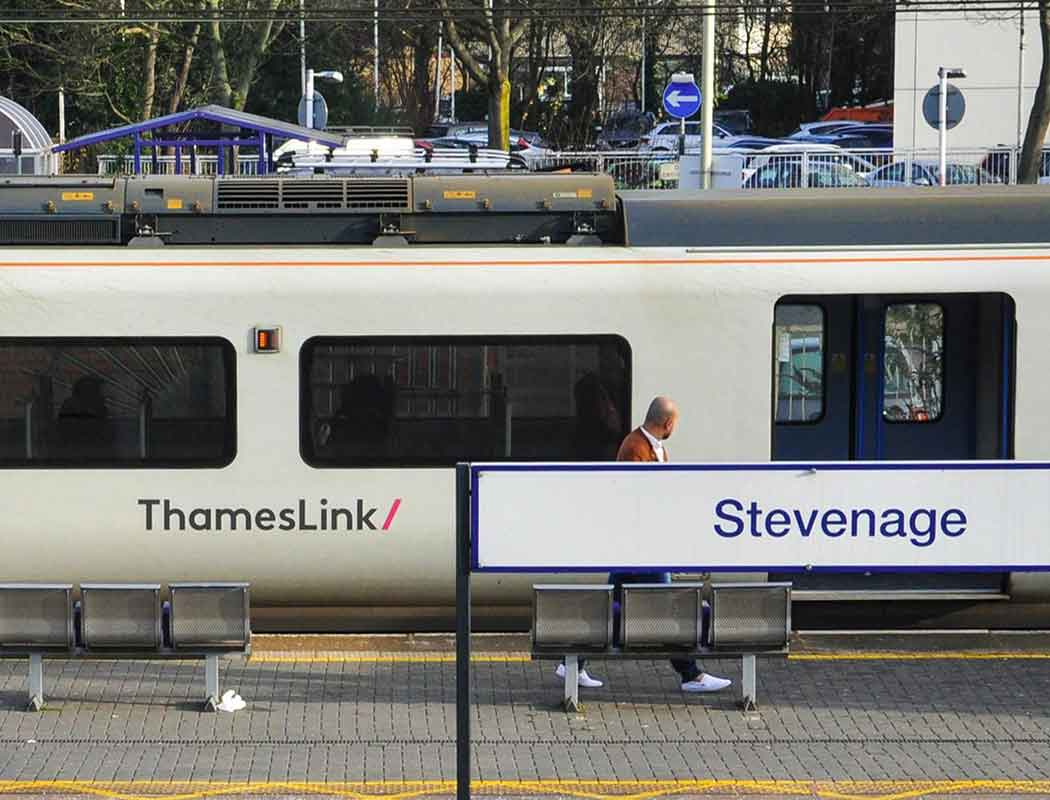 Looking to get to Stevenage FC by rail?