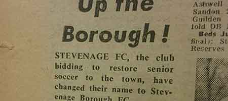 Up The Borough: Blast From The Past