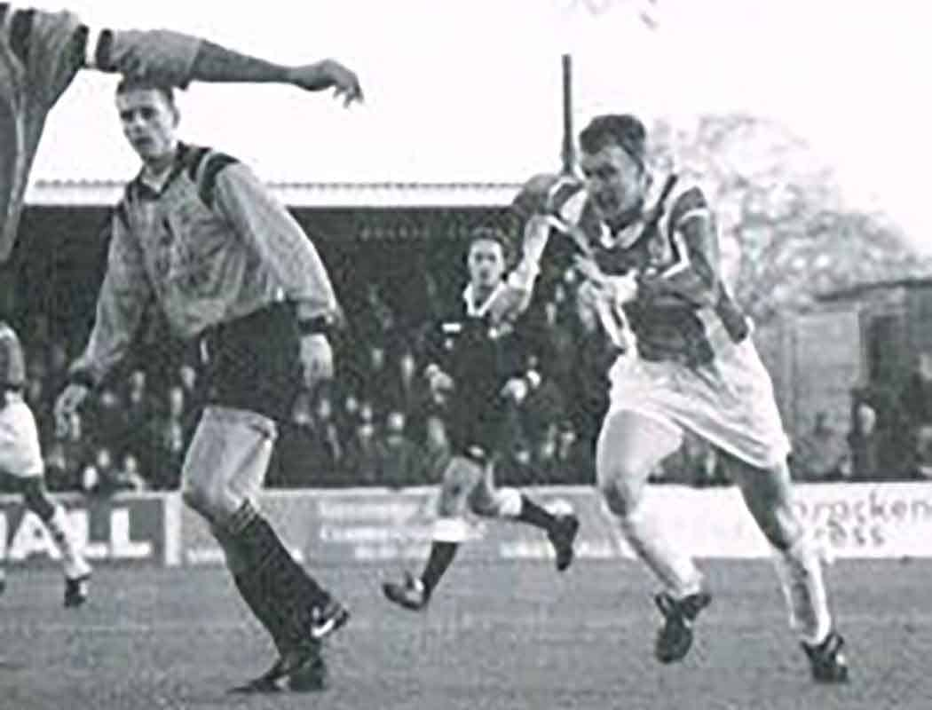Not for the first time, Dave Venables played an important role in a Boro' title win