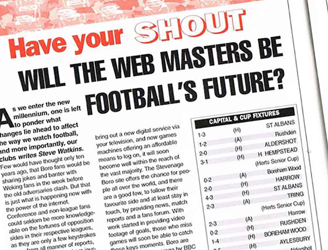 Will The Webmasters Be Football's Future?