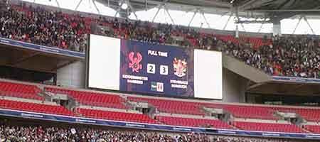 FA Trophy Final 2007 - Scoreboard